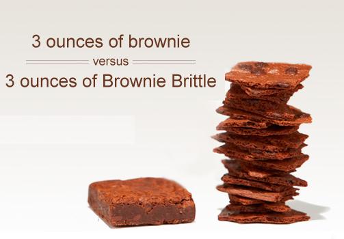 Brownie versus Brownie Brittle