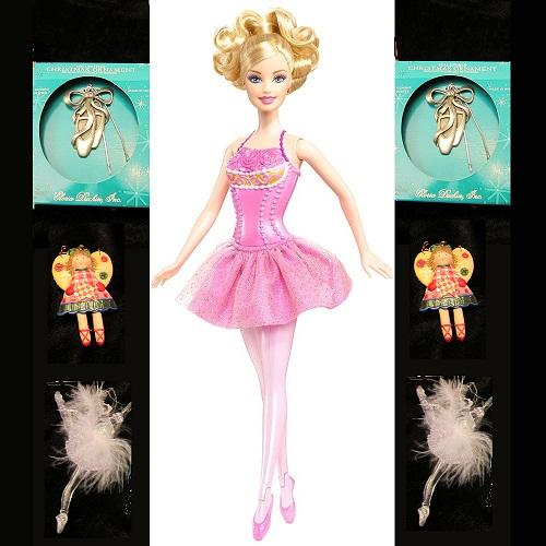 Flashing Santas Barbie Ballet