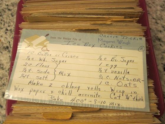 Heirloom IceBox Oatmeal Cookie Recipe