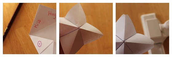 Martha Stewart Crafts Valentine Cootie Catcher