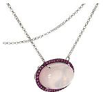Rarities Rose Quartz sapphires