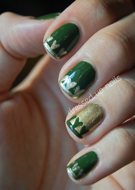 St Patrick and St Valentine Meet Manicure Nail Treatment