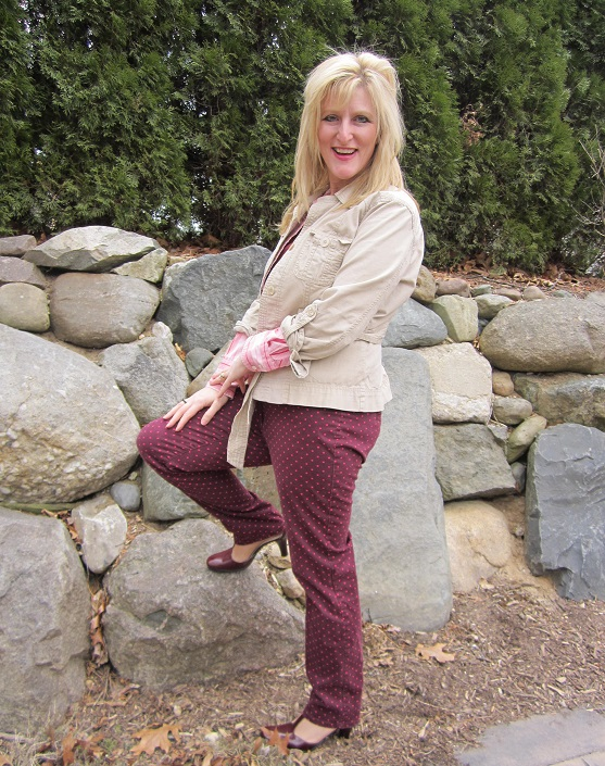 Hanes Legwear Outfits modeled by Women over 45