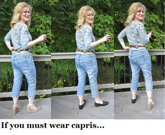 Summer Style Secrets If you must wear Capris