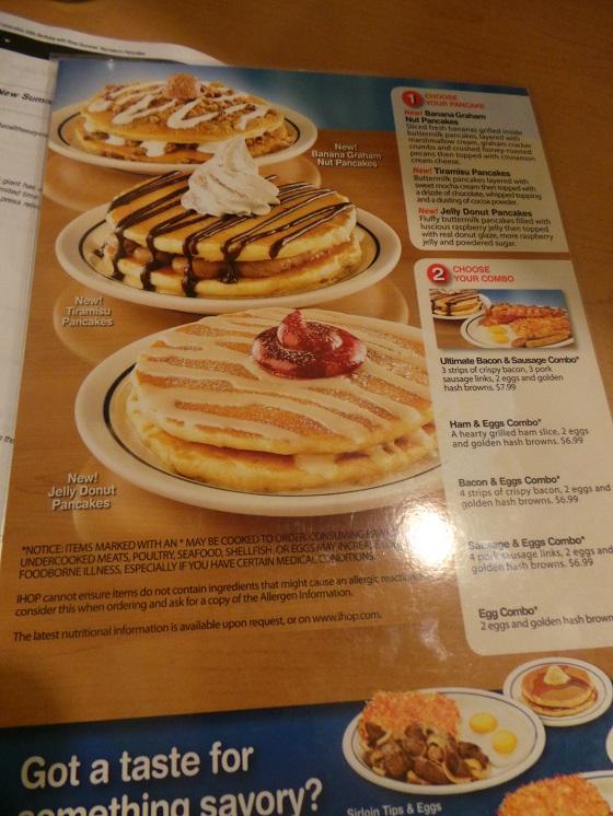 ihops summer signature Pancakes