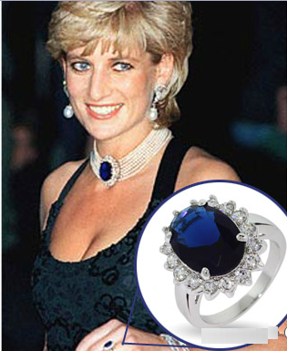 Lady Diana Engagement ring Evesaddiction