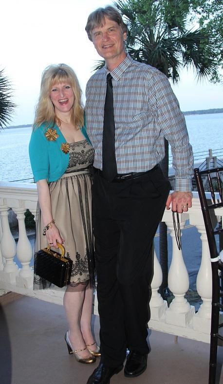 Walt and Shelley Zurek at Edmonston-Alston Cocktail Reception