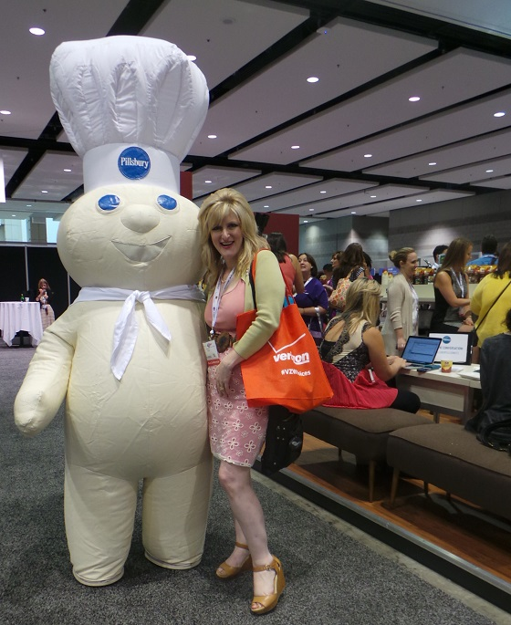 Blogher13 Still Blonde after all these YEARS Pillsbury