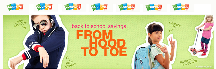 Coupons.com Back to School