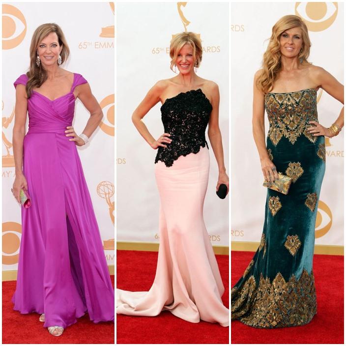 Emmy Style 2013 Allison Janney 53 Anna gun 45 Carrie Britton 46