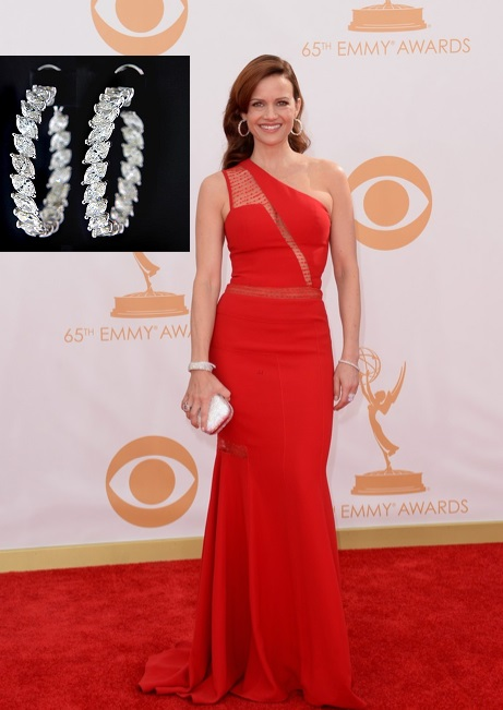 Emmy Style 2013 Carla Gugino Emmy Awards 2013 Outfits modeled by Women over 45