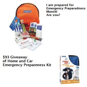 Penny Wise Emergency Preparedness with words