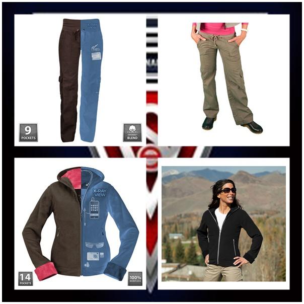 Scottevest Chloe hoodie and Margaux cargaux pants