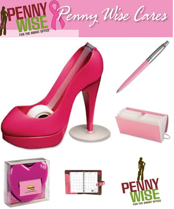 Win it for a survivor, Penny Wise Office Products, Breast Cancer Awareness