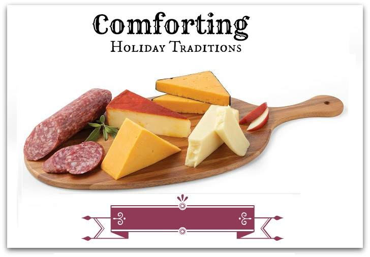 Comforting Holiday Traditions HIckory Farm ad