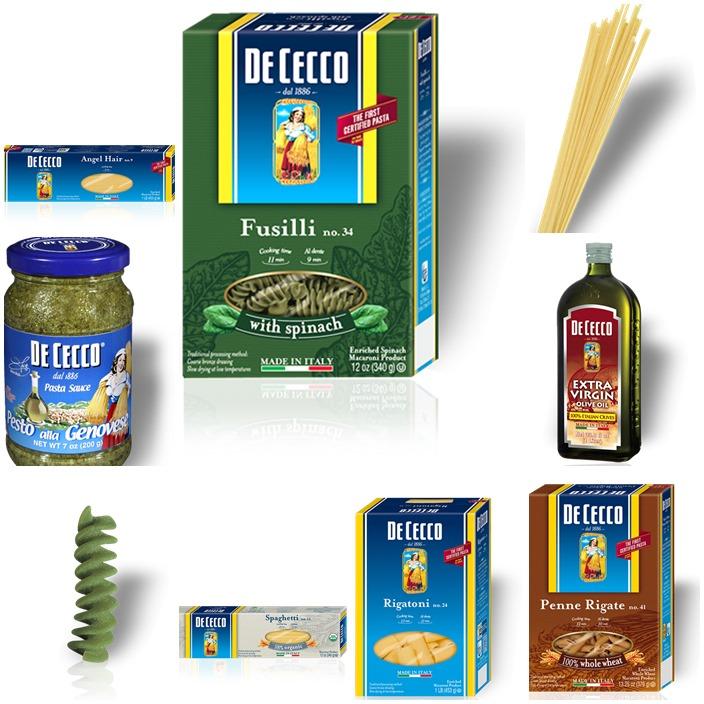 De Cecco Products 5 Pasta Myths