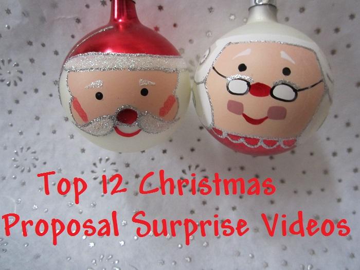Christmas Bride, Top 12 Christmas Proposal Surprise Videos