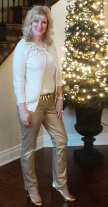 still blonde at Christmas 2