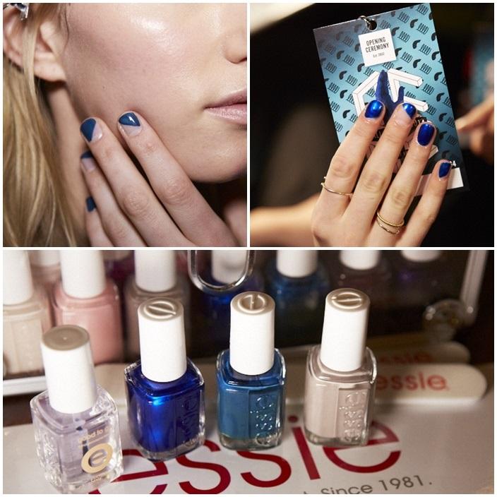 Essie Opening Ceremonies NYFW 2014 Manicures