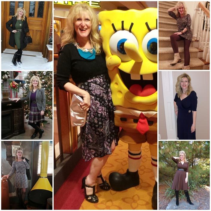 Karina Dresses collage