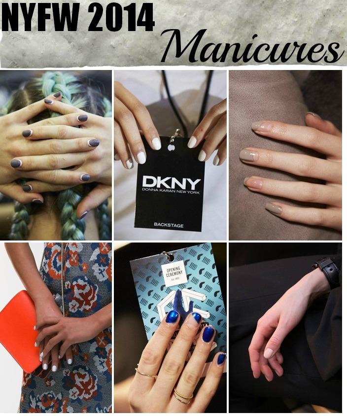 NYFW manicures 2014