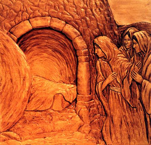 jesus christ ressurected Easter Empty Tomb
