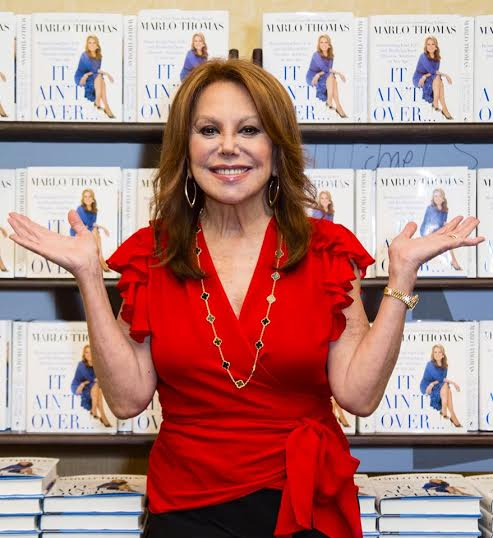 Marlo Thomas It ain't over interview and quotes