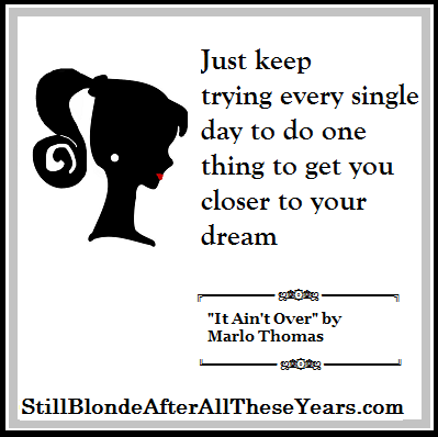 Marlo Thomas it ain't over quotes and interview 3
