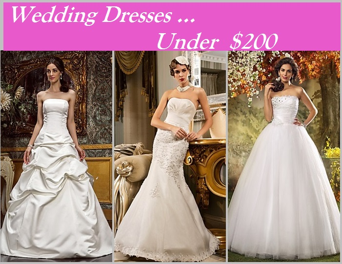 Wedding dresses under $200