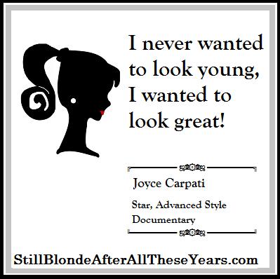 Joyce Carpati Advanced style Documentary