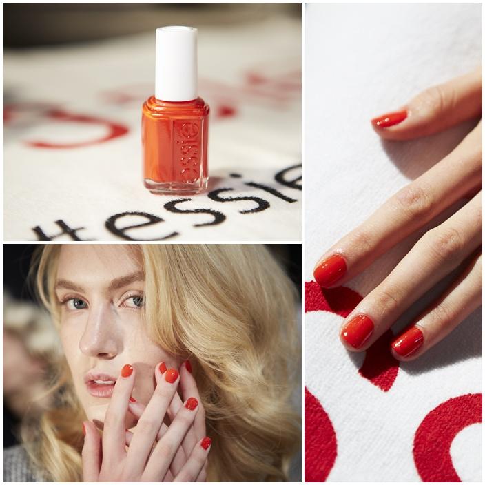 Jenny Packham Spring Summer 2015 runway show  Michelle Saunders essie NYFW Spring Summer 2015 Manicures