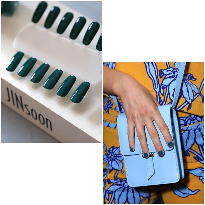 Karen Walker Spring Summer 2015 collection Jin Soon NYFW Spring Summer 2015 Manicures