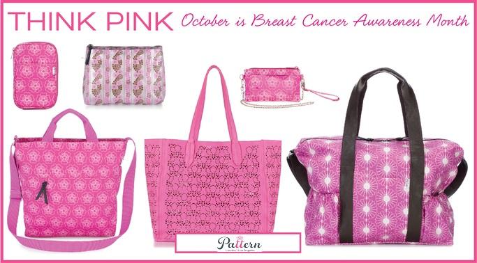 Pattern LA Signature Leather! Breast Cancer Awareness, Tiffany Lerman