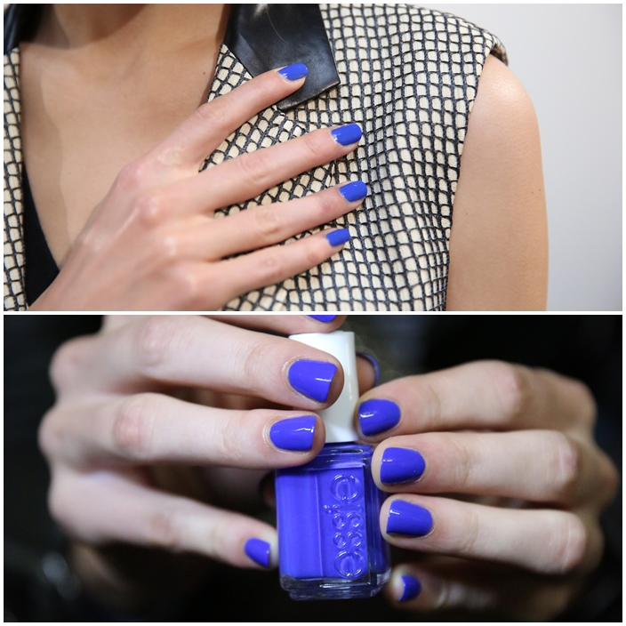 Reed Krakoff's Spring Summer 2015 collection Julie Kandalec essie NYFW Spring Summer 2015 Manicures