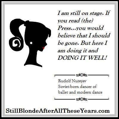 Rudolf Nureyev Inspirational Ballet quotes