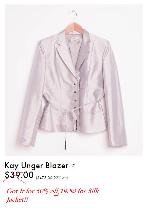 kay unger jacket
