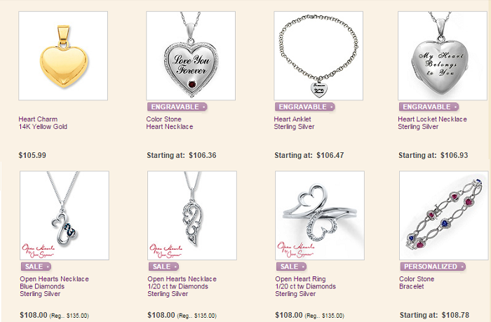 $100 Valentines Day Gifts Kay Jewelers