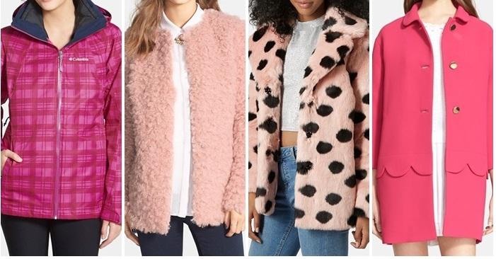 Pink Jackets Fun Nordstrom