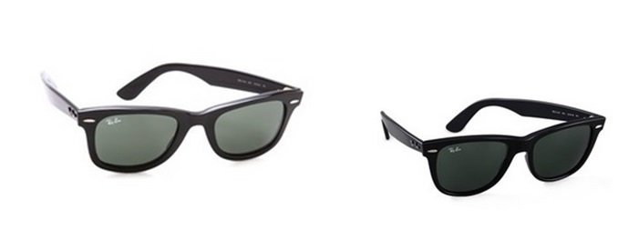 Ray Bans Traditional and Oversized