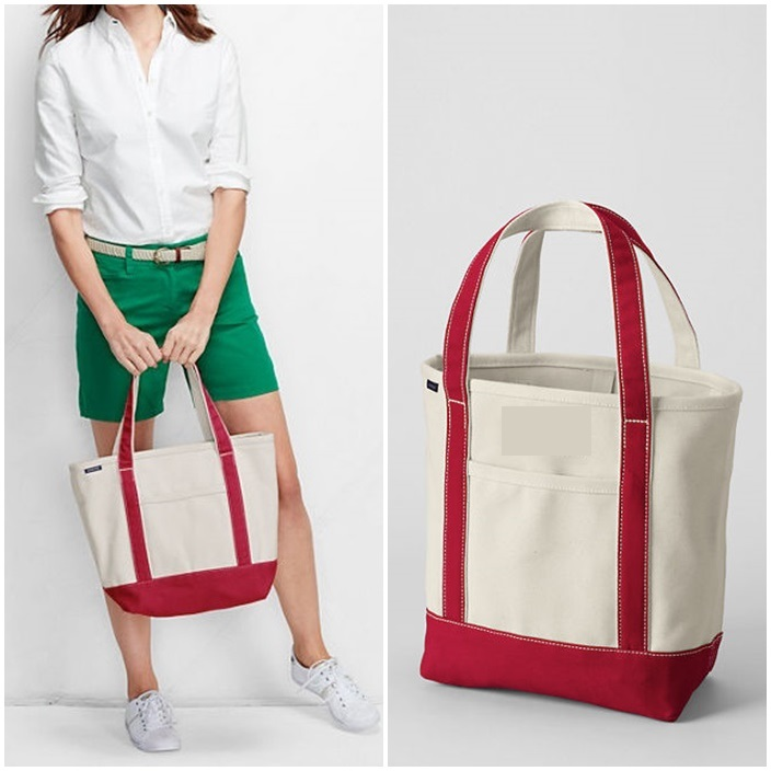lands end medium tote