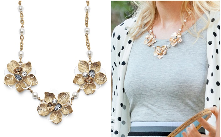 ViVI GOLDI-ROCKS NECKLACE