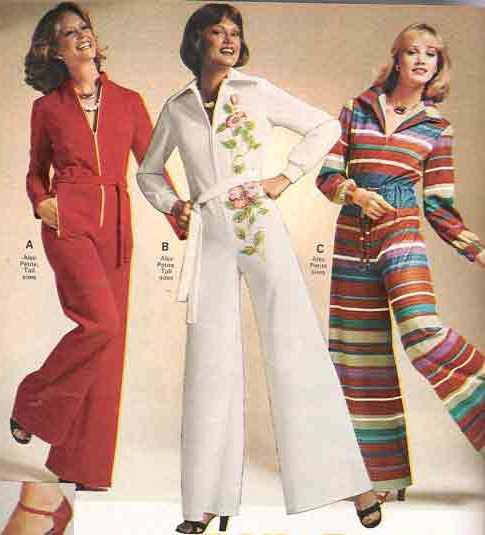 1970s graphic jumpsuits