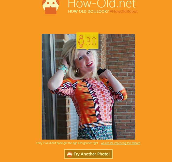 How-Old.net #HowOldRobot How Old Do I Look 2