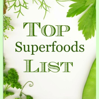 Top Superfoods List 15 Heart Healthy Recipes