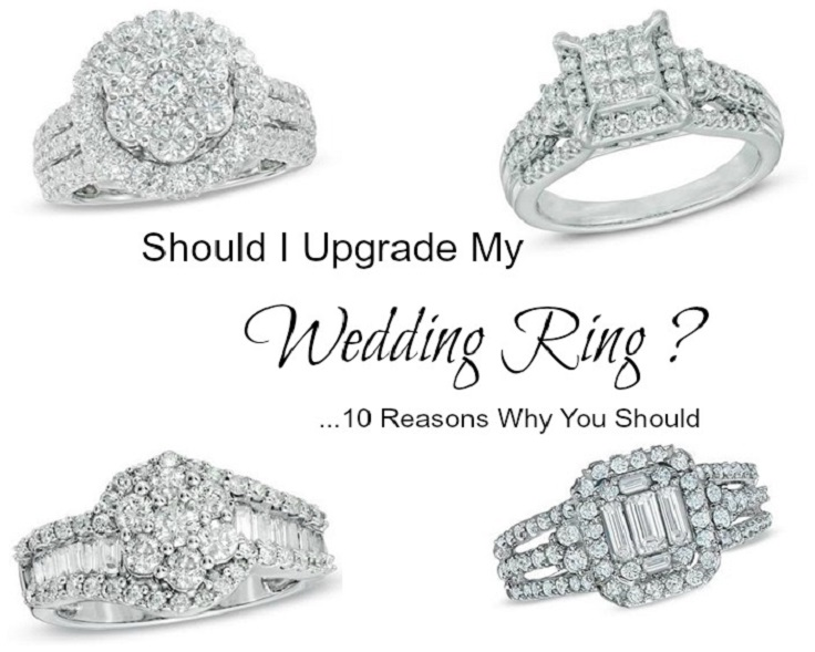 10 Reasons Should I Upgrade my wedding ring Zales