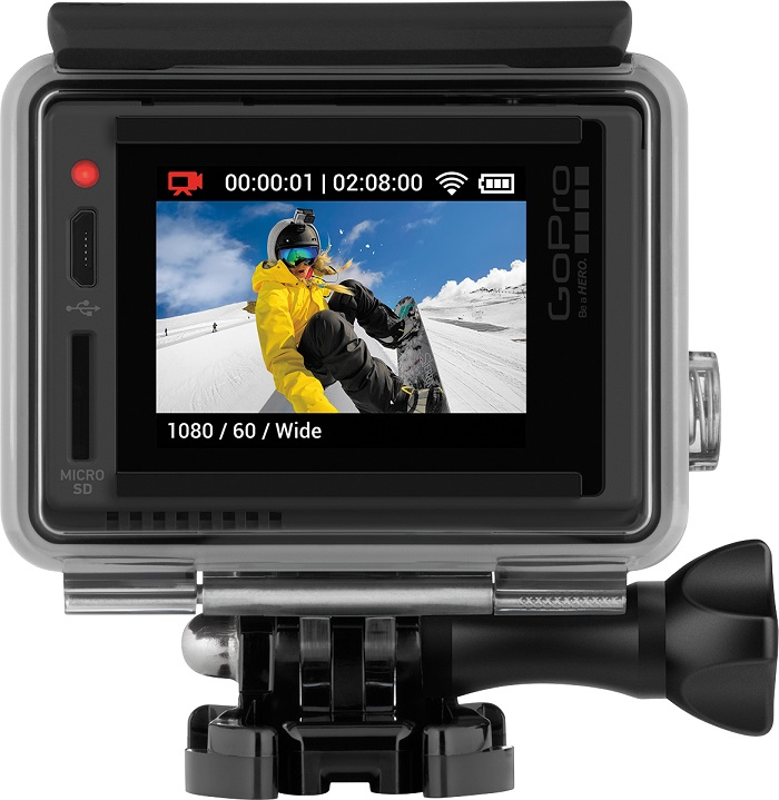 GoPro hero + LCD for Father's Day