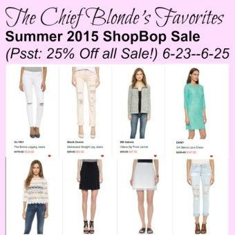 June Sale shopbop
