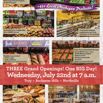Fresh Thyme now in Troy, Rochester Hills, and Northville