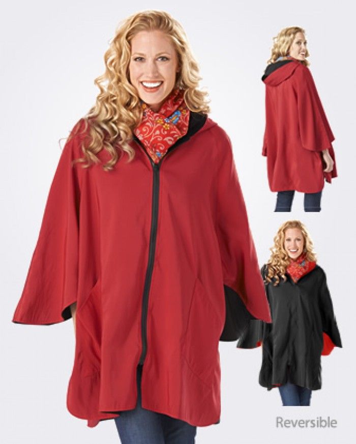 Janska Patty Cape Sleeved Poncho Fashion for Women over 50