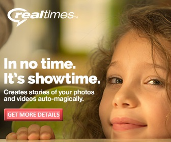 RealNetworks RealTimes Photo Based Cloud Storage